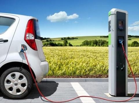 cargar un coche electrico