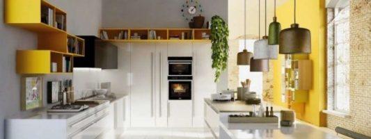 pintur los muebles de la cocina