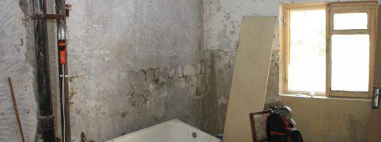 demolición piso